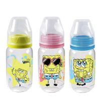 Botol PP SP Round 120 ml SO  Edisi Spongebob