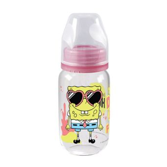 Botol Bayi Botol PP SP Round 120 ml SO - Edisi Spongebob 3 ci0330_pink